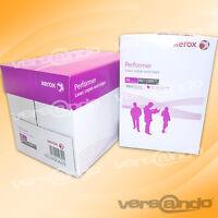 2500 Blatt Marken Papier Xerox DIN A4 weiß Kopierpapier Druckerpapier  Faxpapier