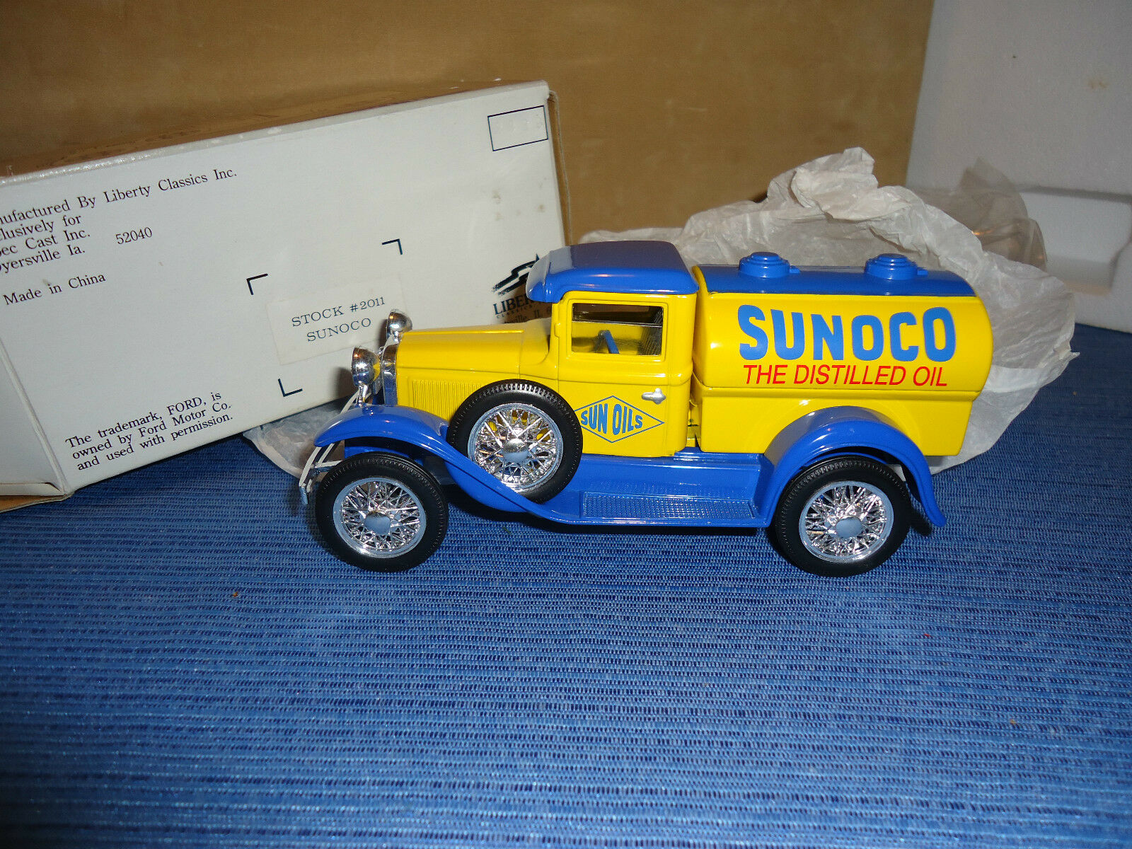 Sunoco Ford Model A-citerne DIE CAST 1 25 Spec Cast  2011
