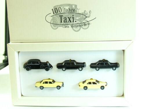 SZ 1171 44a Wiking 1:87 WM Mercedes Benz -Taxipackung II  1996