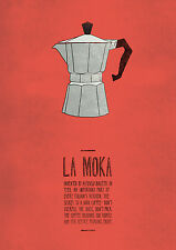 COFFEE MOKA Poster / ITALIAN COFFEE - cm. 30x41 poster repro