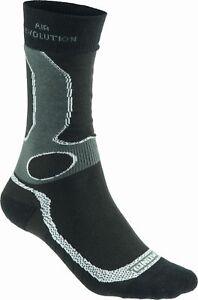 Meindl-Men-039-s-Air-Revolution-Dry-Outdoor-amp-Functional-Socks-Black-Silver