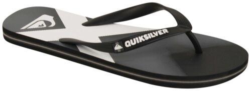 Black New Black Quiksilver Molokai Bullseye Sandal White
