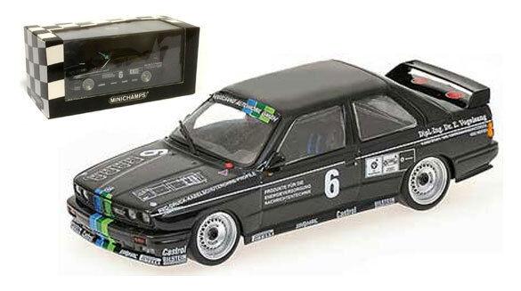 Minichamps BMW M3 (soucis)  équipe Vogelsang  DTM 1987-H grohs, échelle 1 43,