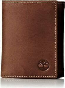 Timberland-Men-039-s-Hunter-Trifold-Leather-Wallet