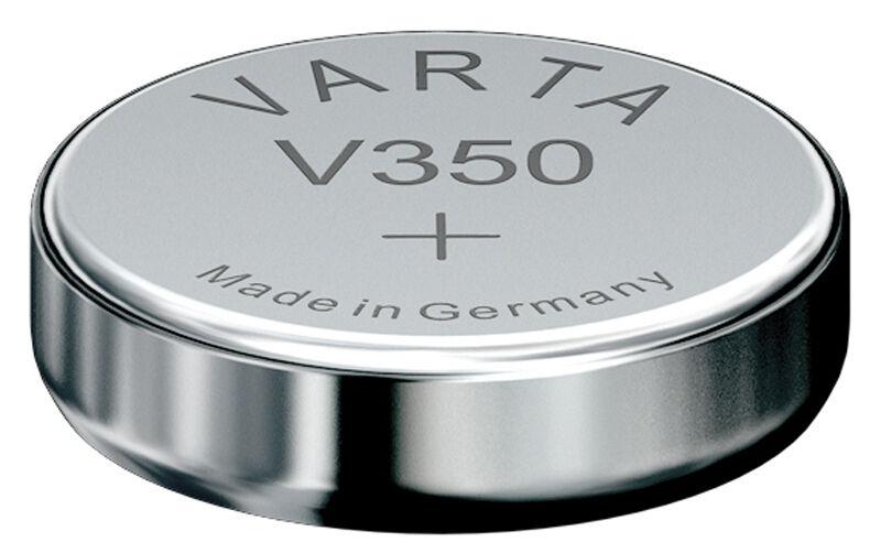 2x V350 Uhren-Batterie Knopfzelle SR42W VARTA