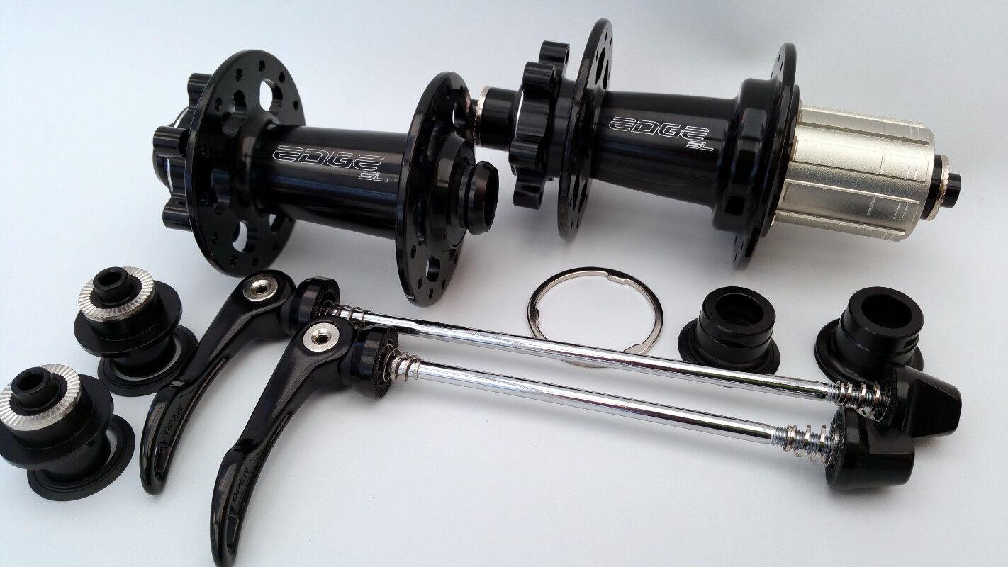 Edge Design Road   Cyclocross (CX) Disc Hubs Pro - thru axle - 24 24h - 11Speed