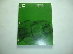 cummins diesel shop manual kt 2300 kta 2300 engine factory service rh ebay com