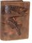 Indexbild 1 - Hecht Fisch Angel Naturleder Geldbörse  Büffelleder Minibörse Portmonai RFID/NFC