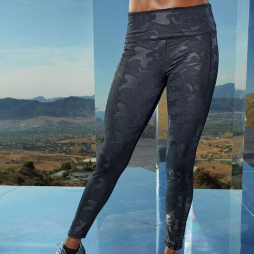 TR038 Fitness Yoga Gym Tridri Women/'s Performance Pleine Longueur Camouflage Leggings