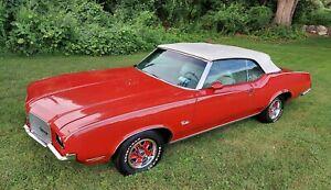 1972 Oldsmobile Cutlass white