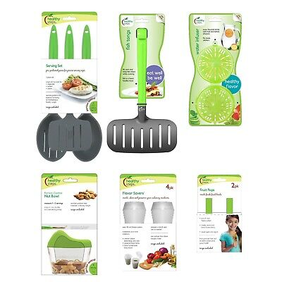 Jokari Healthy Steps Portion Control Diet / Weight Loss 12pc Utensil Set
