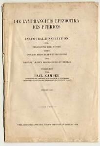 Dissertation-Veterinaer-Medizin-Pferde-Berlin-1921