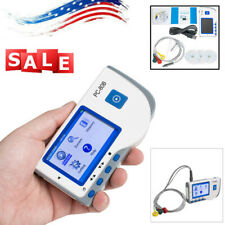 Fda Handheld Color Screen Ecg Ekg Machine Portable Heart Monitor Single Channel