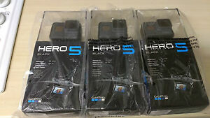 NEW SEALED GoPro HERO 5 Action Camera Black Edition - 4K HD 12MP - Waterproof