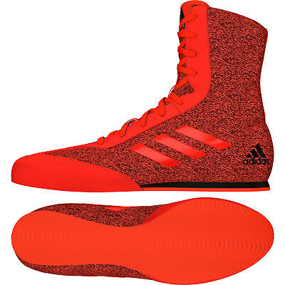 quality design 36036 68851 Adidas Box Hog Plus Boxing Boots Mens Red Sports Shoes Trainers