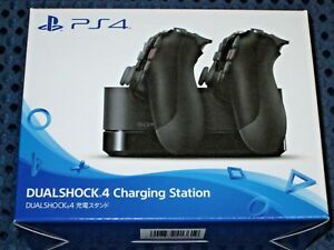 SONY-Official-DUALSHOCK4-Charging-Station-for-PS4-Dual-Shock-Controller-x2-JAPAN