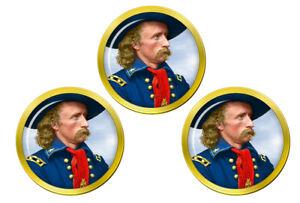 General-Custer-Marqueurs-de-Balles-de-Golf
