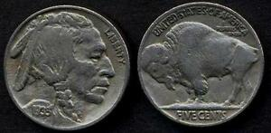Usa Buffalo Nickel 5 Cents 1935 Aegdc4gz-07232316-895947206
