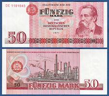 DDR 1971 50 marchi casse freschi ros.360 a
