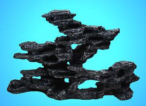 Aquarium Deko Pagoden Felsen Steine Dekoration Terrarium Zubehor Riff Ebay