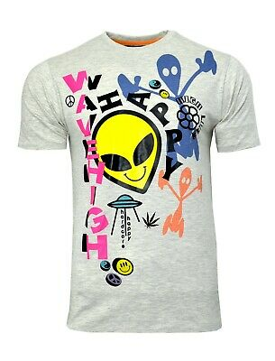 Nett Mens Alien T Shirt Ufo Soul Star Wave High Printed Short Sleeve Top Duftendes (In) Aroma
