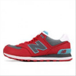 shoes New Balance Ml 574 Wna red