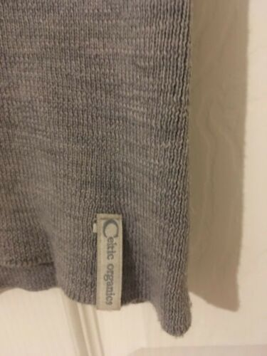 Grey Neck V Jumper Vgc Sleeveless Rare S Size Celtic Merino Sheepskin T6wnqxn5A