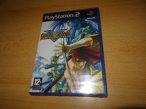 PS2-SAMURAI-SHODOWN-V-GB-PAL-neuf-amp-Sony-scelle-en-Usine