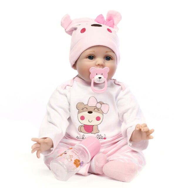 22 Inch 55cm Real Looking Reborn Baby Doll Realistic Looking Baby Girl Toddler