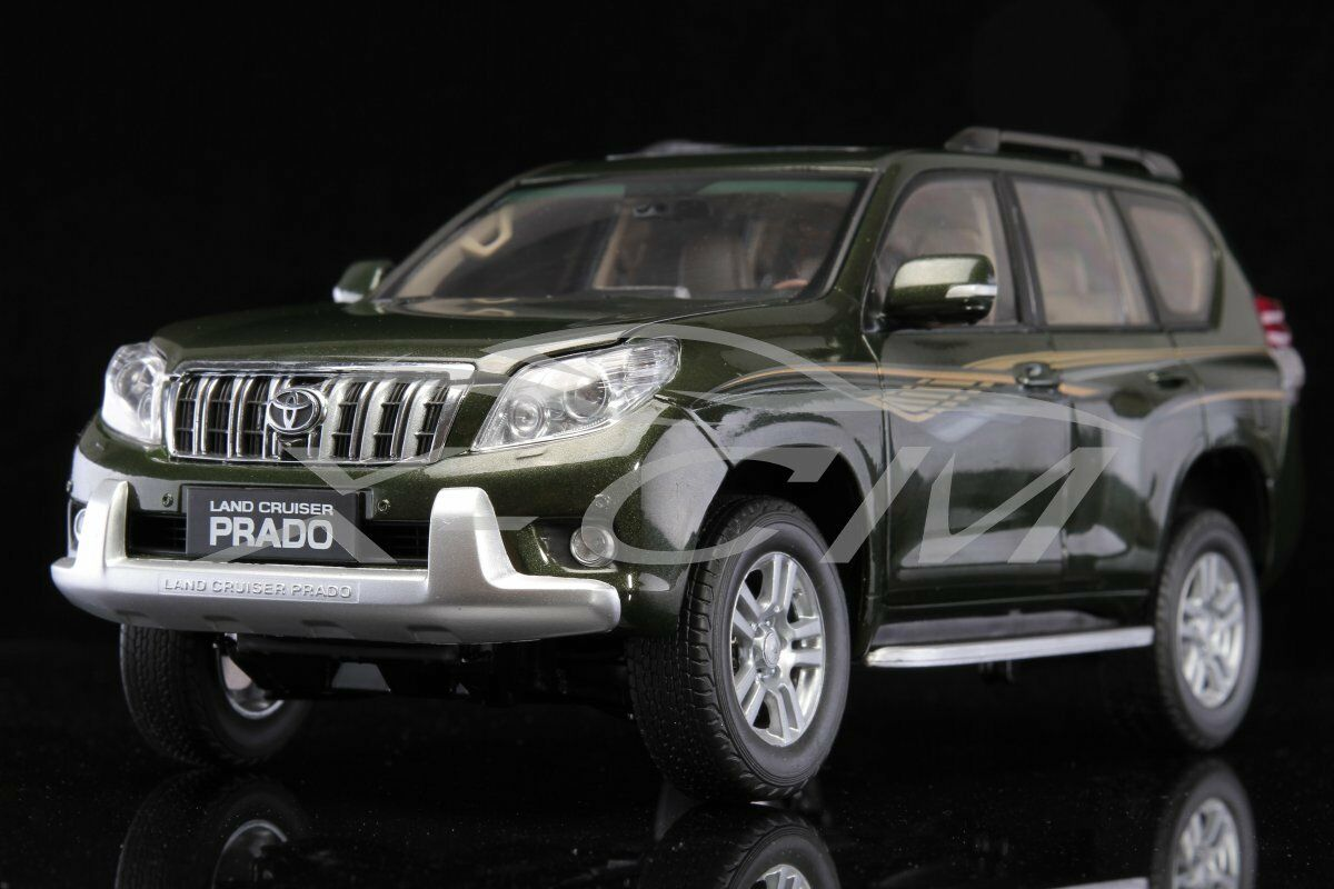 Diecast Car Model Toyota Land Cruiser Prado 1 18 (Green) + GIFT