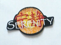 High Quality 4.7 Serenity Firefly Logo Embroidered Iron On / Sew On Patch