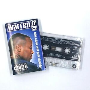 WARREN G Take A Look Over Your Shoulder (Reality) Cassette Tape Rap Hip-Hop Rare