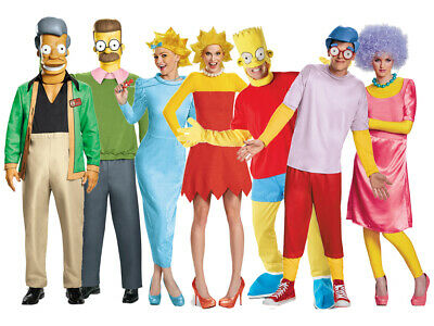 Freundlich The Simpsons Characters Costume Choice Tv Cartoon Funny Novelty Fancy Dress