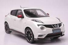Nissan Juke Nismo RS car model in scale 1:18 white