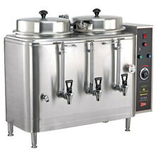 Cecilware Fe100n 1 Phase Twin 3 Gallon Automatic Coffee Urn 120v