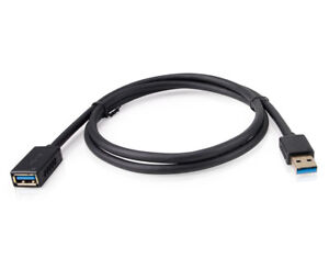 DTECH-Long-10ft-USB-3-0-Extension-Cable-Type-A-Plug-Male-to-Female-Extender-Cord