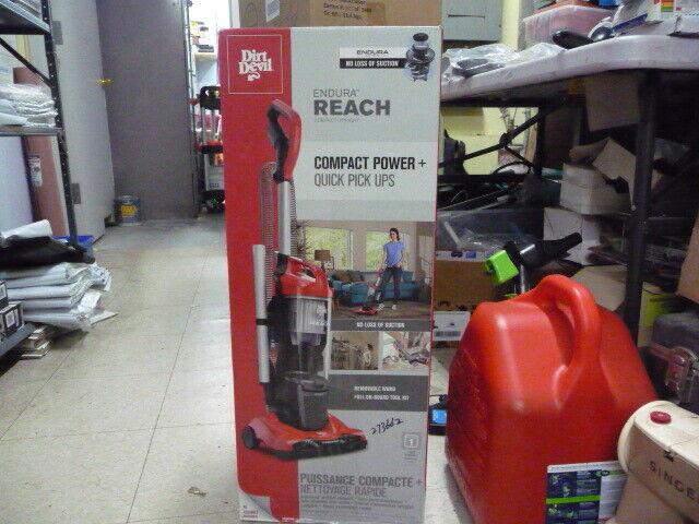 Dirt Devil UD20124 Endura Reach Upright Vacuum Cleaner New