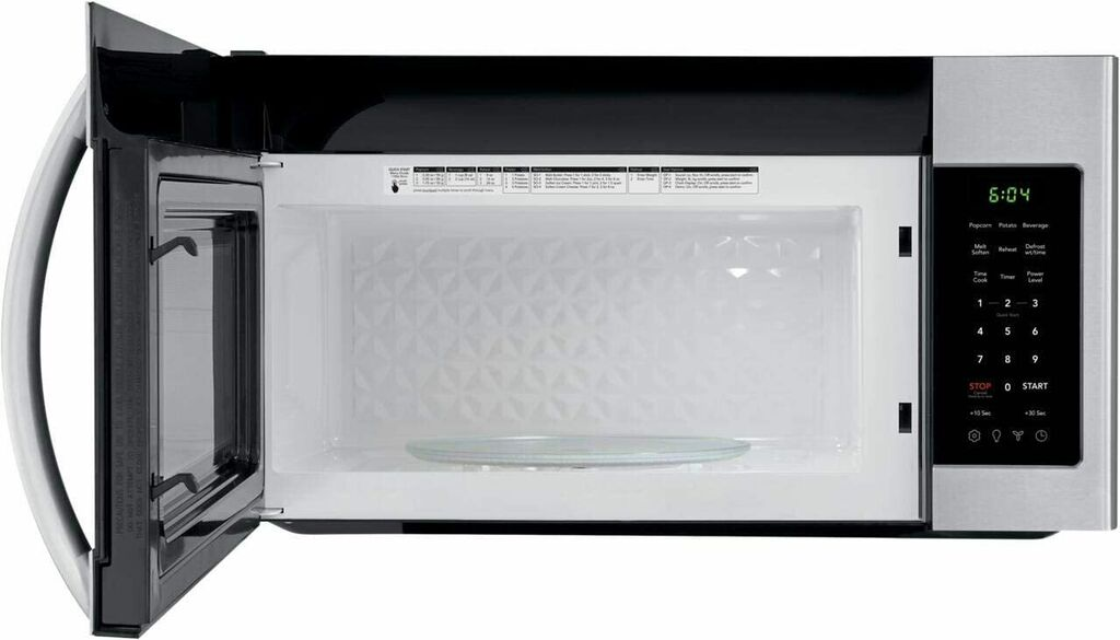 """Frigidaire 1.8 Cu Ft 1000W 30"""" Over-the-Range Microwave - Stainless Steel   Ebay"""