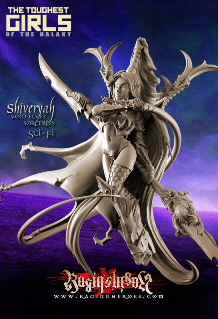 Raging Heroes 22656 Shiveryah Void Elves Sorceress (sci-fi) Female Elf  Wizard