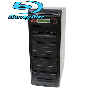 SySTOR 1-5 USB/SD/CF/MS Multi Media Flash Backup CD DVD Blu-ray Duplicator Tower