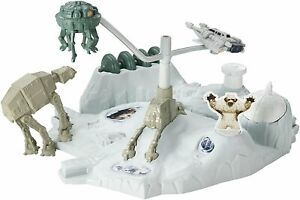 Hot-Wheels-Star-Wars-Hoth-Echo-Base-Battle-Playset-Snowspeeder