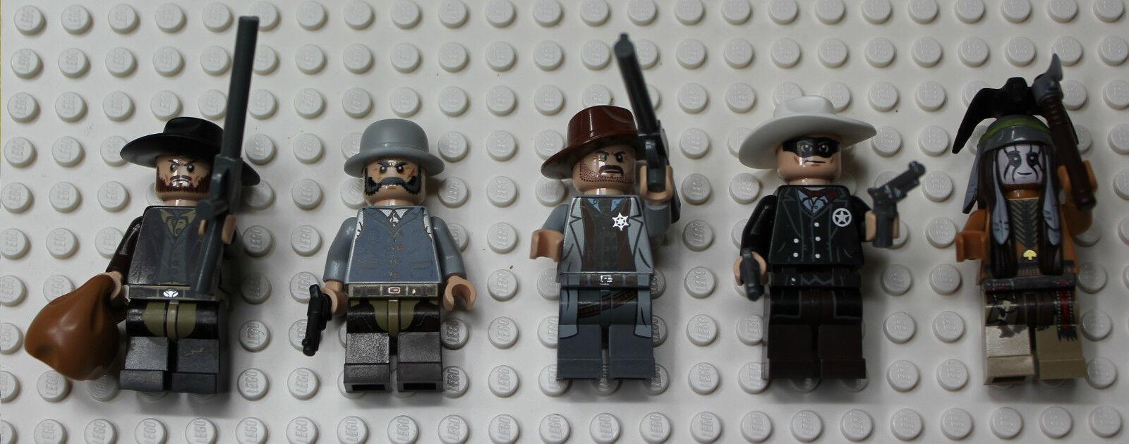 Lego Lone Ranger Colby City Showdown MINIFIGURES_79109