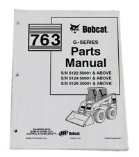 Bobcat 763 G Series Skid Steer Parts Catalog Manual Part Number 6900986