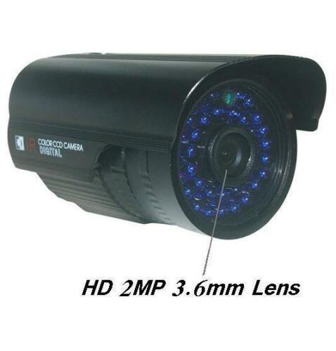 "Sunvision 1200TVL HD 1/3"" Sony CMOS IR Night Vision CCTV Camera 2MP Lens (03B)"