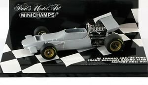 DE-TOMASO-505-38-FORD-FRANCK-WILLIAMS-RACING-TEAM-FACTORY-ROLL-OUT-MINICHAMPS