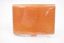 Authentic Louis Vuitton Diary Cover Agenda PMCyber Epi Oranges  129456