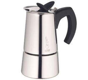 Versand Bialetti Espressokocher Edelstahl Tassen Musa 2 2 25 Nur UzMqpSV