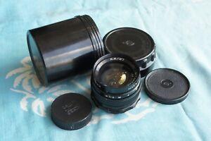 MIR-1 Grand Prix 37mm f2.8 lens M42 Zenit Praktica camera Flektogon Micro 4/3