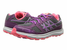 NIB The North Face Kids Betasso II Girls Size 1.5 Shoes Grey Purple Pink $60