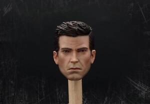 """Delicate Painting 1//12 Scale Batman Head Sculpt Ben Affleck Head Sculpt Fit 6/"""""""